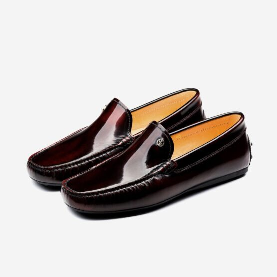 Loafers Shoes Wine