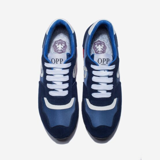 Women Lace-Up Suede Sneakers Blue - Top Women Sneakers - OPP Official Store (OPP France)
