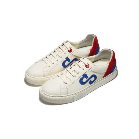 Casual Lace-Up Shoes White - Top Casual Shoes - OPP Official Store (OPP France)