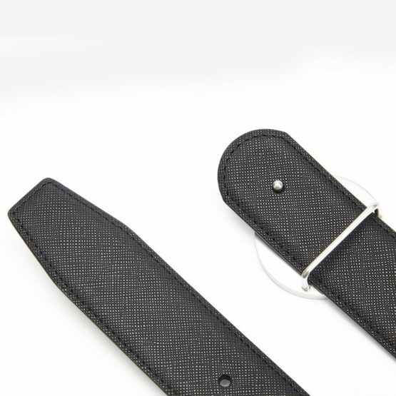 18K Plated Diamond Inlaid Men Belts Silver - Top Belts - OPP Official Store (OPP France)
