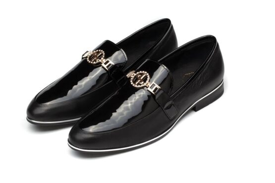 Buckle Dress Shoes Black