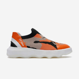 Casual Lace-Up Shoes Orange
