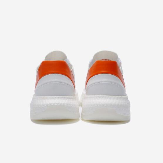 Casual Lace-Up Shoes Orange