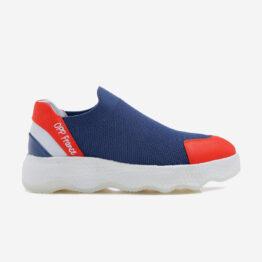 Women Casual Slip On Shoes Dark Blue