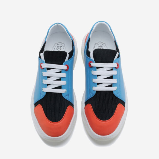 Casual Lace-Up Shoes Light Blue