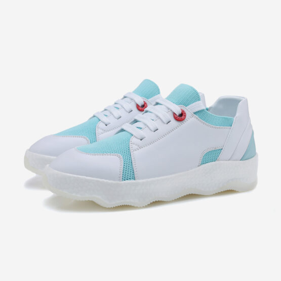 Women Casual Lace-Up Shoes Light Blue