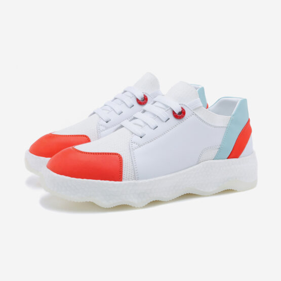 Women Casual Lace-Up Shoes White