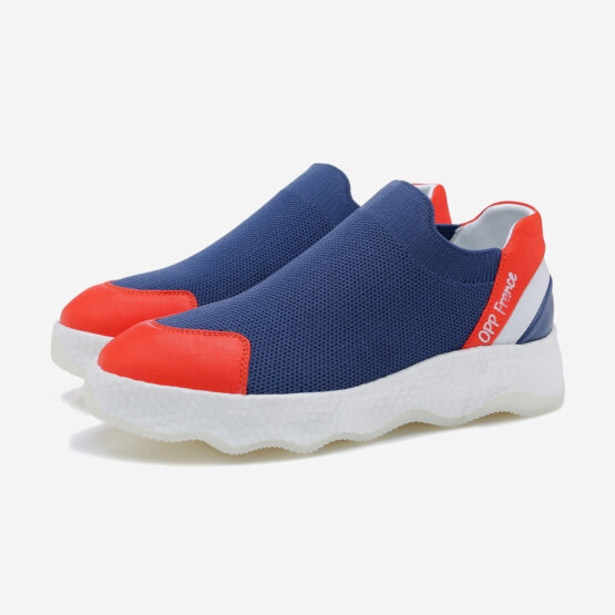 Women Casual Slip On Shoes Dark Blue