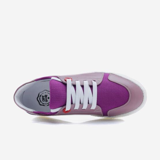 Women Casual Lace-Up Shoes  Violet