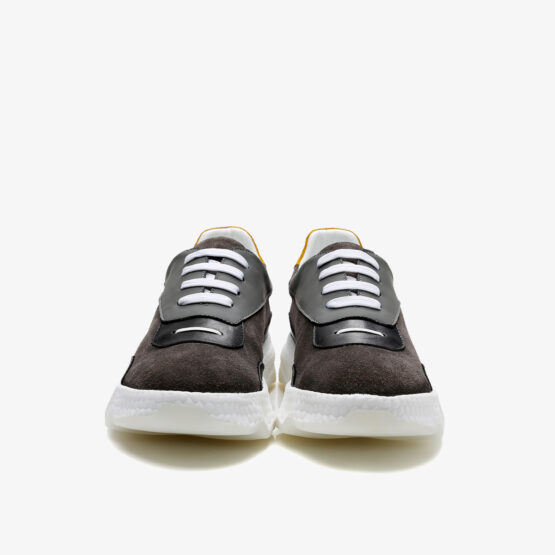 Casual Lace-Up Shoes Grey