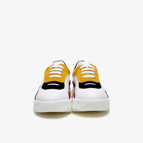 Women Casual Lace-Up Shoes Yellow