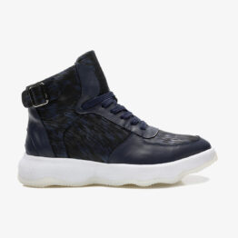 Men High-Top Shoes Blue